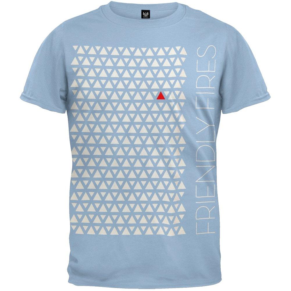 Friendly Fires - Triangles Soft T-Shirt American T-Shirt 66692
