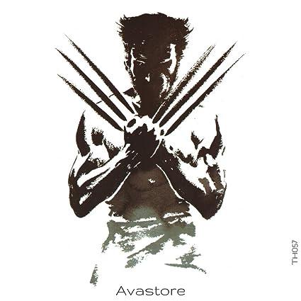 Tatouage Temporaire Heros Wolverine Tatouage Ephemere Wolverine
