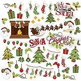 Paper Die Cuts - Christmas Eve - Over 60 Cardstock Scrapbook Die Cuts - by Miss Kate Cuttables