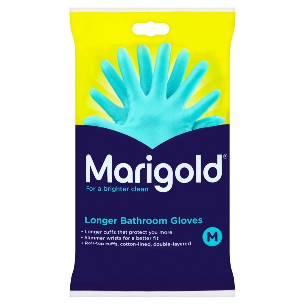 Marigold Bathroom Gloves Medium (312634)