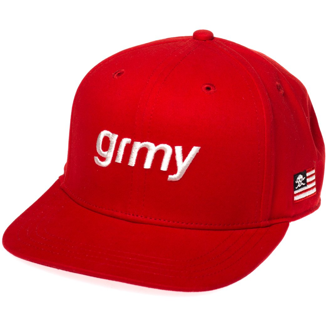 Grimey Gorra The Lucy Pearl Snapback FW17 Red: Amazon.es: Ropa y ...