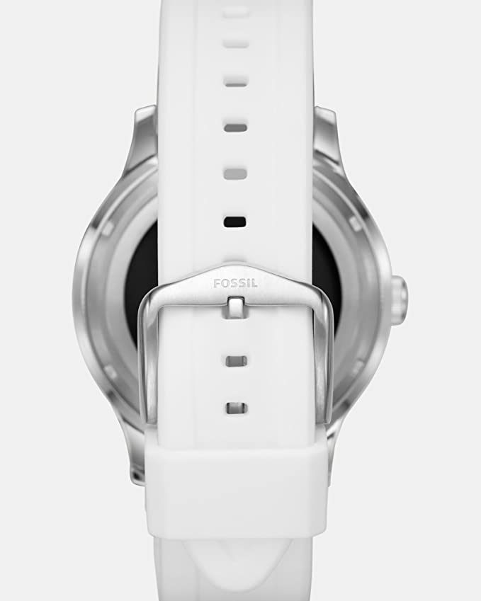 453e5c689b25 Amazon.com  Fossil Q Founder Gen 2 White Silicone Touchscreen Smartwatch  FTW2115  Watches