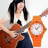 Kids 50M Waterproof Watch,PU Band Wrist Watch for