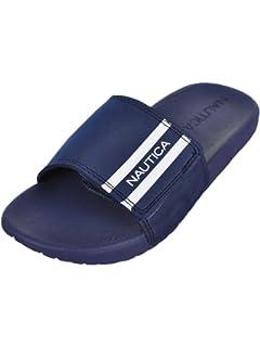 65537273ad83 Nautica Kids Cecil Velcro Slip-On Sandal