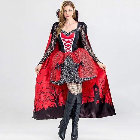 Deli Disfraz De Halloween Devil Mini Vestidos Mujeres Imprimir ...