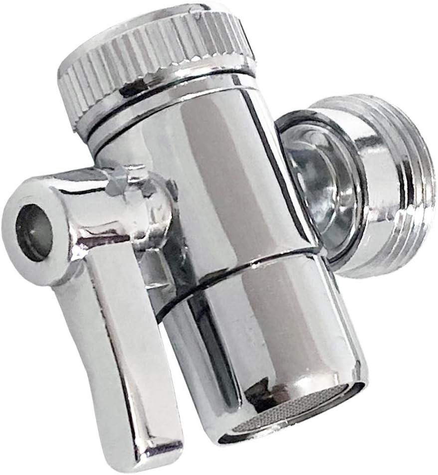 MISSMIN Sink to Garden Hose Diverter Faucet Adapter for Portable Washer/Dishwasher/Washing Machine,for Bathroom and kithcen