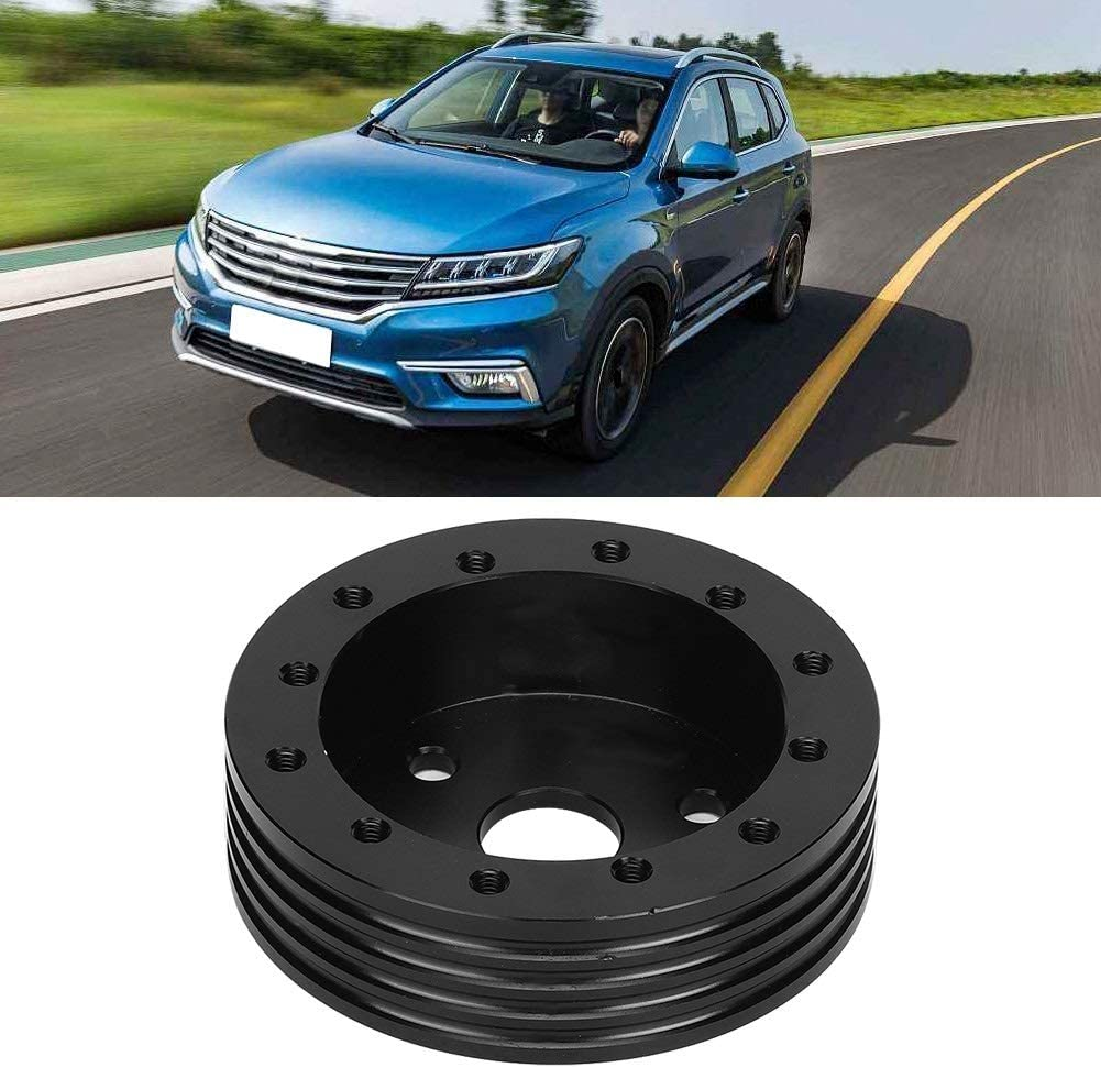 Steering Wheel Hub 1in Aluminum Steering Wheel Hub Spacer For 5 6 Hole Wheels To 3 Hole Adapter