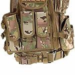 Lixada Armée Tactique Vest extérieure CS Champ Swat air de Jeu de Guerre Cosplay de Counter Strike Jeu Chasse Camping… 10