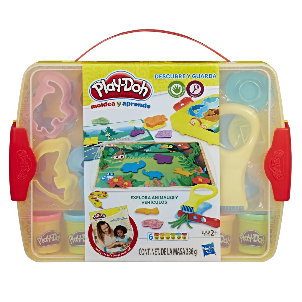Hasbro European Trading - Playdoh Create Learn and Store, Multicoloured (e1955) by Hasbro