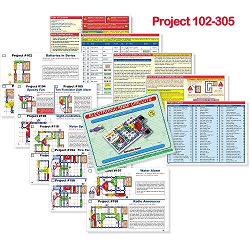 Snap Circuits Extreme SC-750 Electronics Exploration Kit | Over 750 STEM Projects | 4-Color Project Manual | 80+ Snap Modules | Unlimited Fun by Snap Circuits (Image #3)
