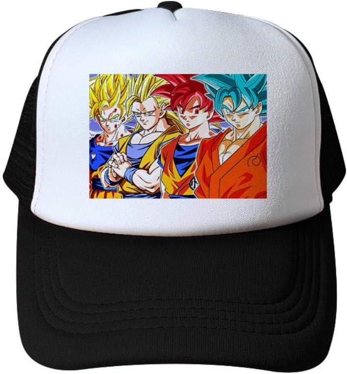 MUATE Anime Dragon Ball Goku Hat Enfants Shade Net Hat Casquette De Baseball