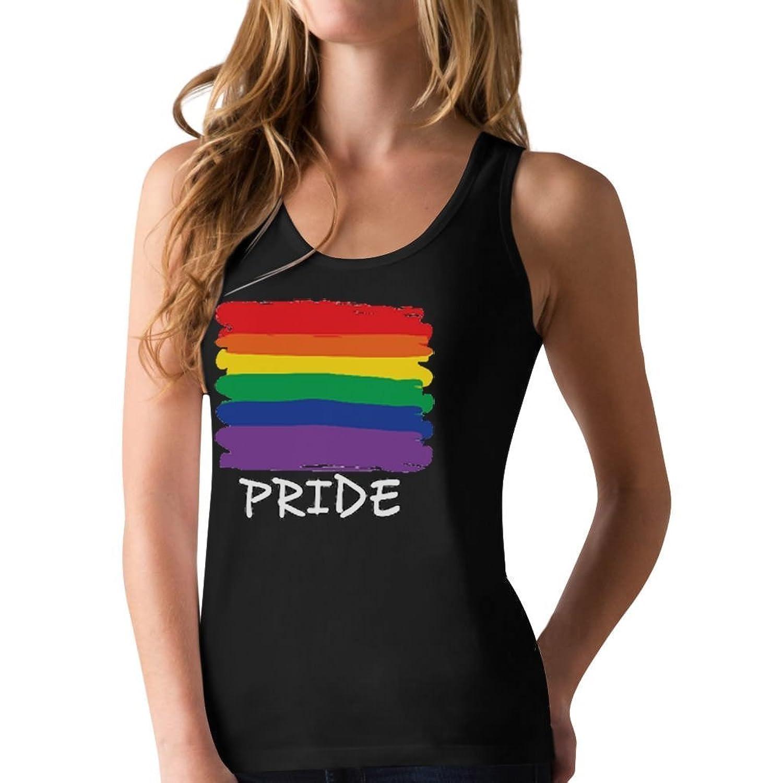 Love No Limits Gay Pride Rainbow Flag Lesbian Gays Rights Racerback Tank Top