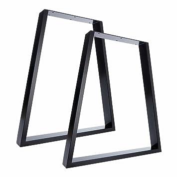 Pieds De Table Et Pieds De Banc Design Accrocheur En Trapèze