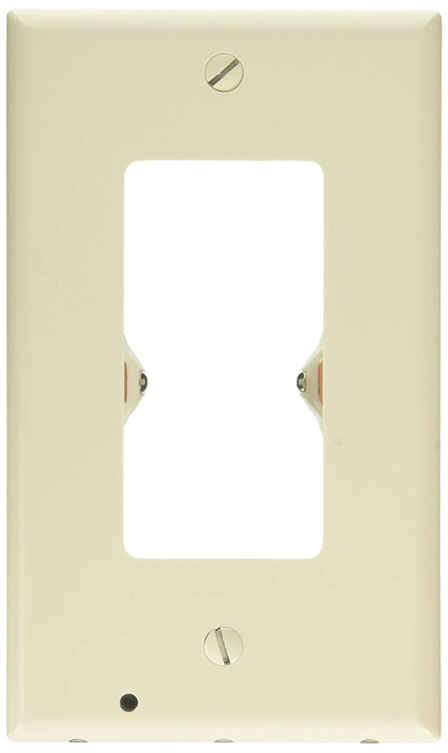 1 Pack SnapPower Guidelight - Outlet Wall Plate With LED Night Lights - No Batteries Or Wires - Installs In Seconds - (Duplex, White) SYNCHKG117015