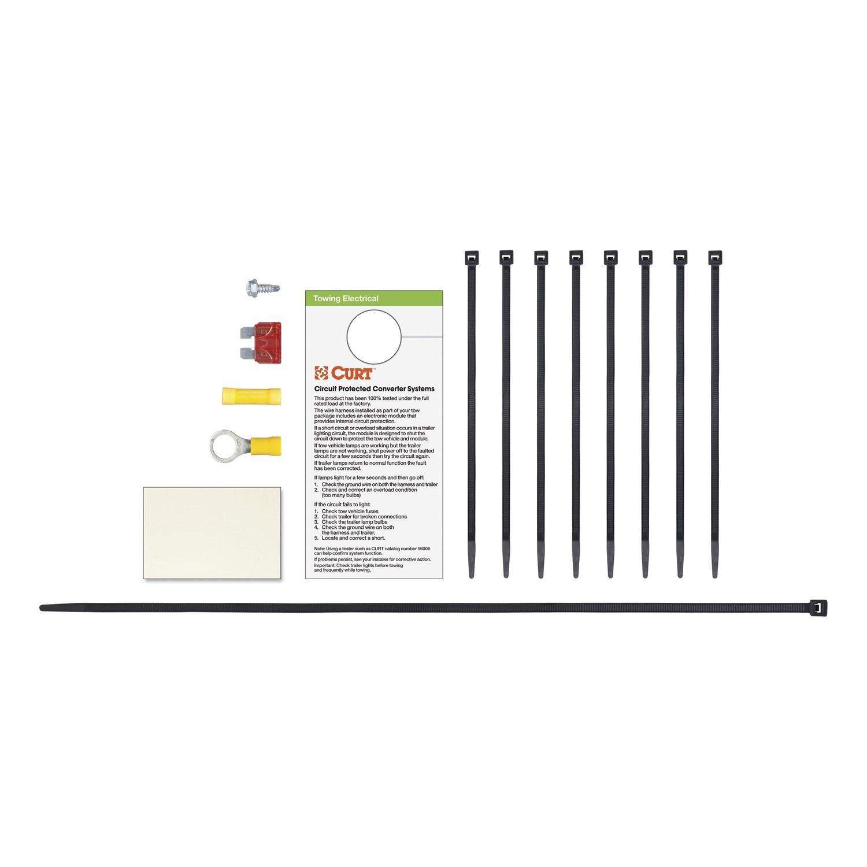 61xPHPEY9WL._SL1500_ amazon com curt 56184 custom wiring harness automotive Curt 7 Pin Wiring Harness at bayanpartner.co
