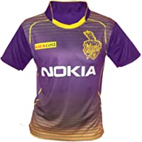 JS KKR Unisex ipl Jersey for Kids & Mens