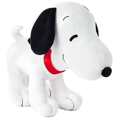 "Hallmark Peanuts Snoopy Standing Stuffed Plush Animal, 9.5"": Toys & Games"
