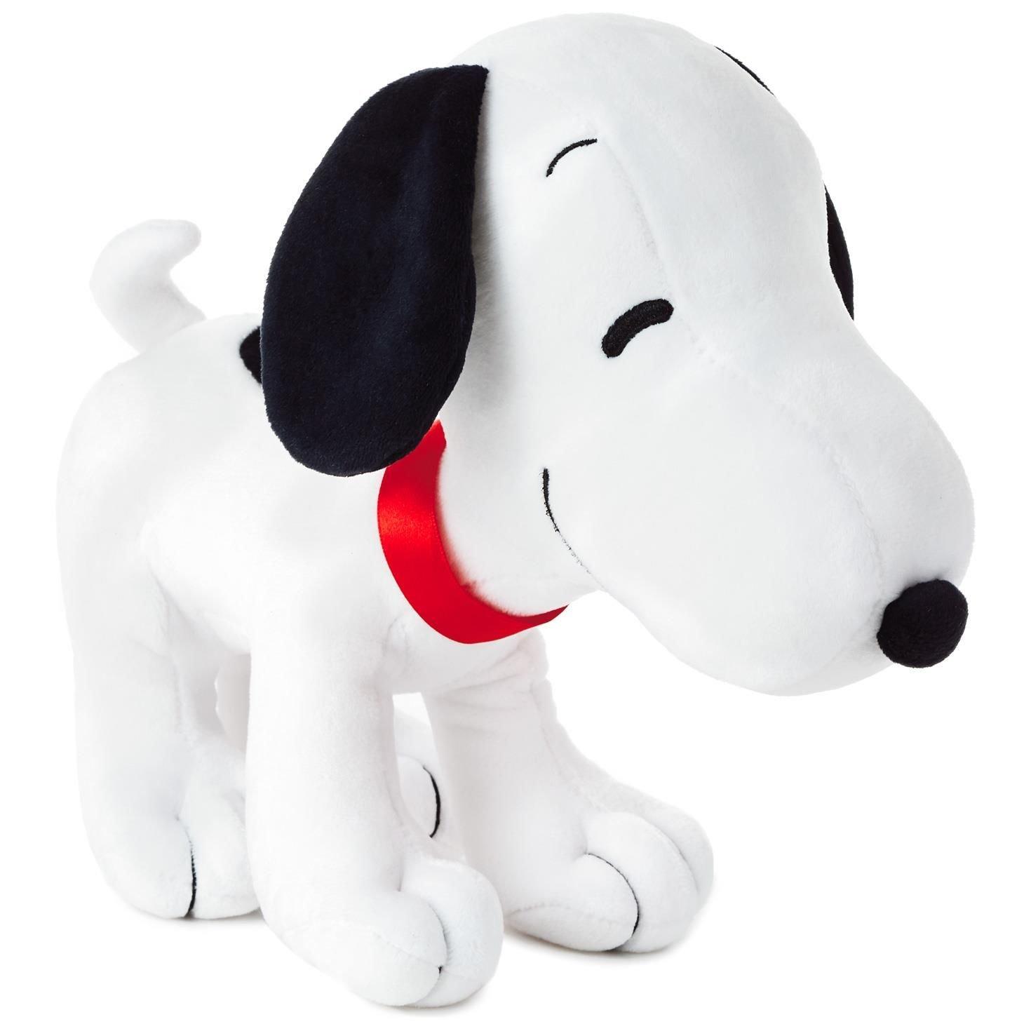 Amazon Com Hallmark Peanuts Snoopy Standing Stuffed Animal 9 5