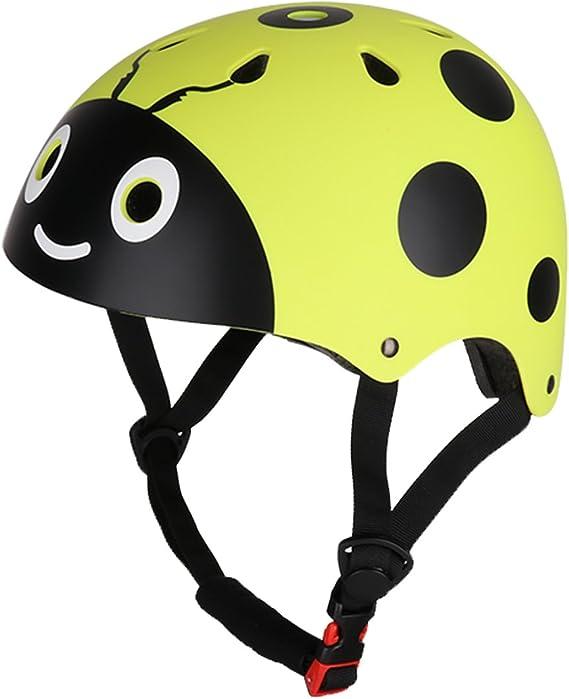 CHICTRY Casco Bicicleta Infantil Ciclismo Casco de Seguridad para ...