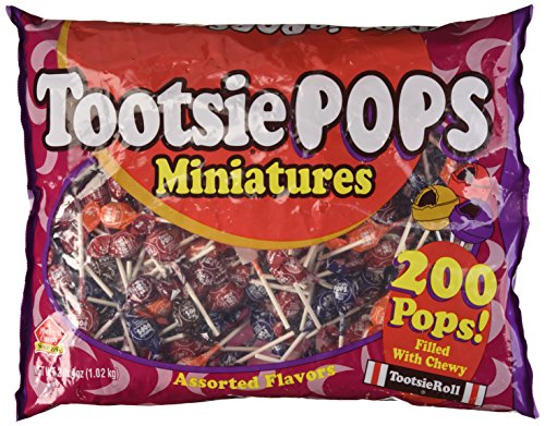 Mini Tootsie Pops/200-Bg