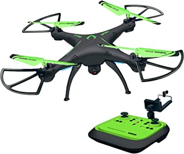 Honor-Y Drone for Beginners, FPV Remote Control Quadcopter Drone with One-key Land and Headless Mode, Drone with Camera Live Video 720P HD Camera Drone for Kids and Adults ( Green )