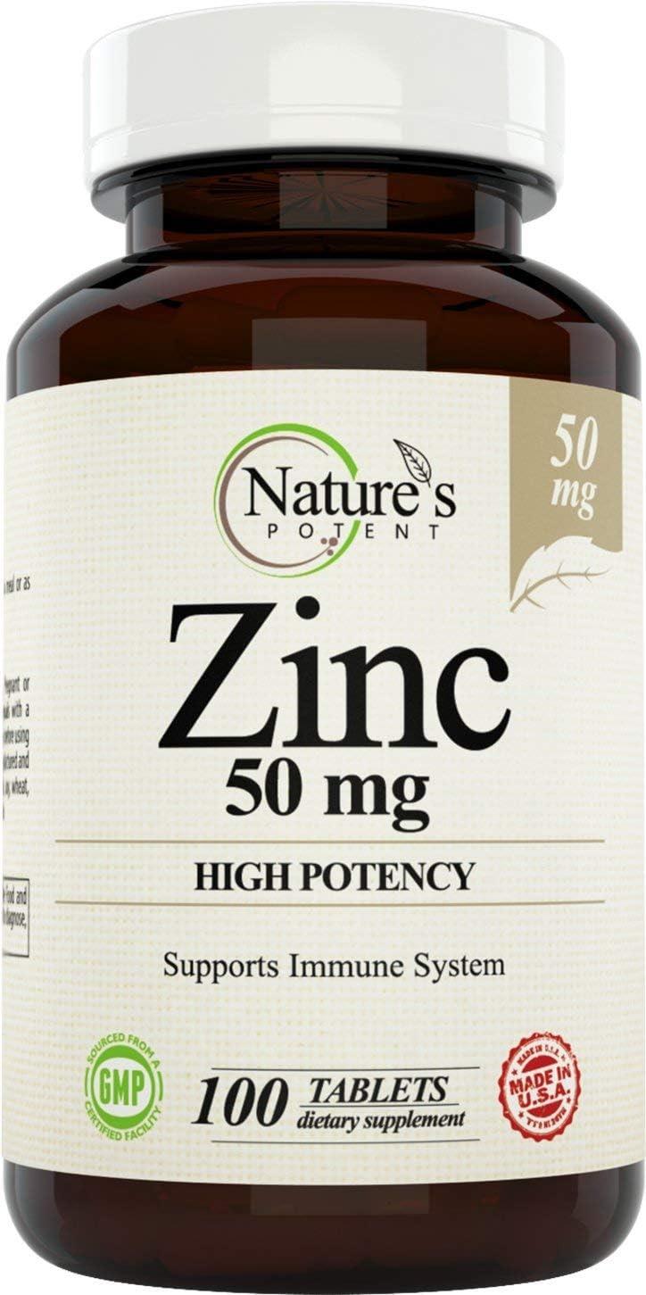 Nature's Potent 50mg High Potency Zinc $12.70 Coupon