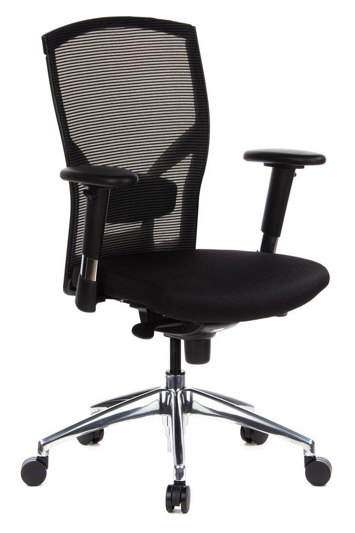 HJH OFFICE 710700 Bürostuhl/Chefsessel X1-Tec Netz, schwarz