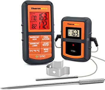 ThermoPro TP08S Wireless Remote Digital Cooking Food Thermometer