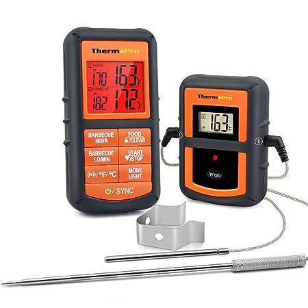 ThermoPro TP08 Termómetro de Cocina para Carne Alimento Barbacoa ...