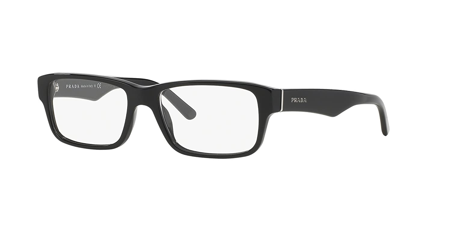 afe4d390947e Amazon.com  PRADA 16MV SIZE 55 READING GLASSES +1.25  Clothing