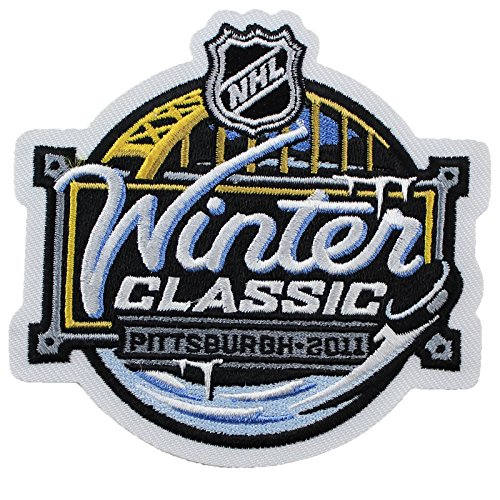 2011 NHL Winter Classic Jersey Patch Pittsburgh Penguins Washington Capitals