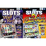 IGT Slots: Wolf Run & Lucky Larry's Lobstermania 2 Pack Bundle - PC/MAC