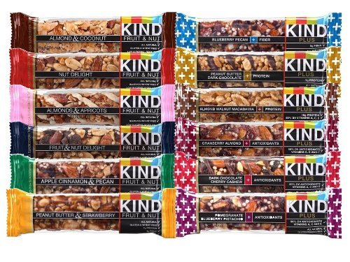 KIND Fruit & Nut, All Natural / Non GMO, Gluten Free Bars