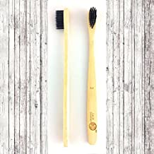 Lavish Essentials - Premium Natural Bamboo Toothbrush | 2-Pack | Organic & Biodegradable Wooden Toothbrush | BPA-Free | Soft Bristles| Sustainable Material | Eco-friendly | Natural Alternative to Plastic…