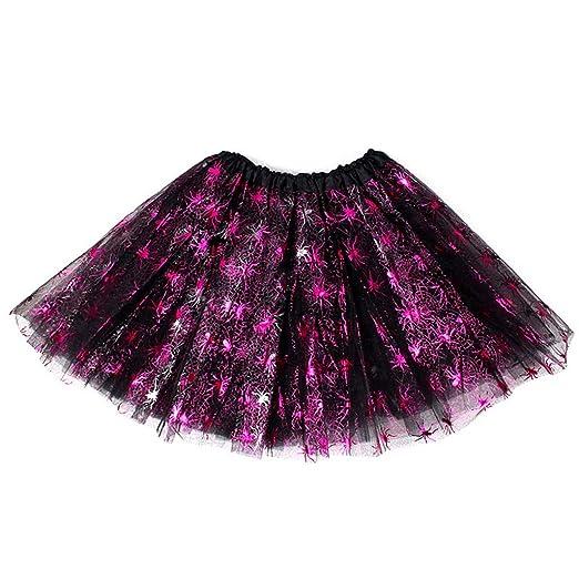 CARRYKT Baby Girl Tutu Faldas Niños Baile Falda para Niñas Tul ...