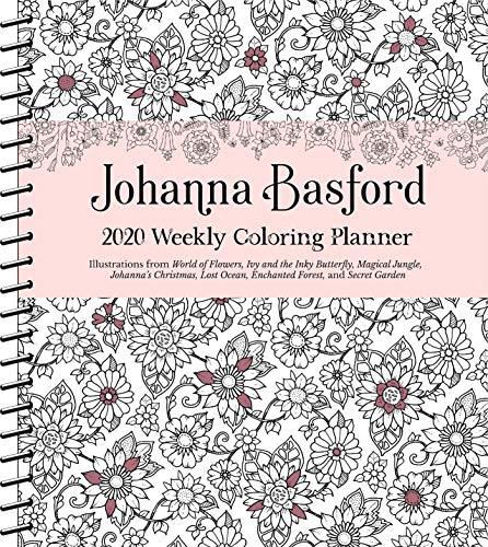 Secret Garden Johanna Basford - Johanna Basford 2020 Weekly Coloring