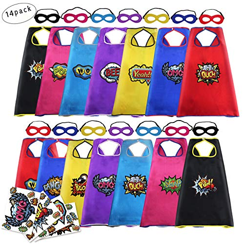Super Hero Capes and Masks for Kids Bulk--Boys
