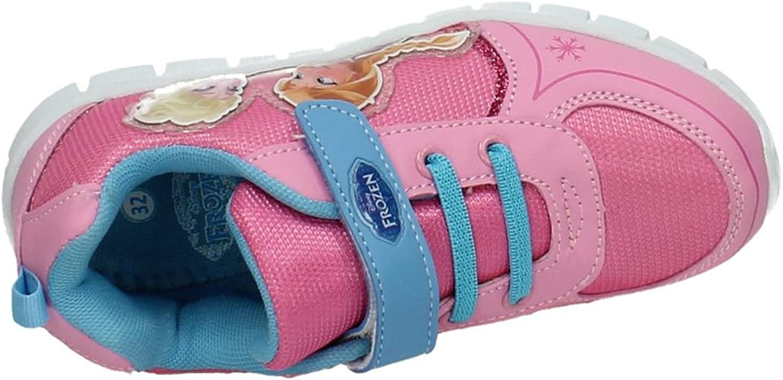Die Eiskönigin Mädchen Schuhe Sneakers Klettverschluss Frozen Anna+Elsa Gr.26-33