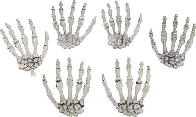 Amazon.com: Plastic Skeleton Hands Halloween Prop: Garden & Outdoor