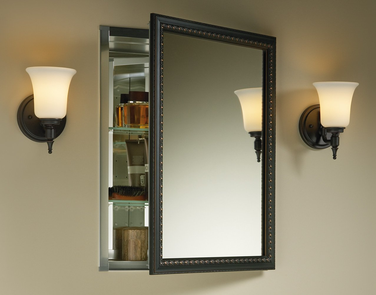 Amazon.com: Kohler K 2967 BR1 Aluminum Cabinet With Oil Rubbed Bronze  Framed Mirror Door, Oil Rubbed Bronze: Home Improvement Part 89
