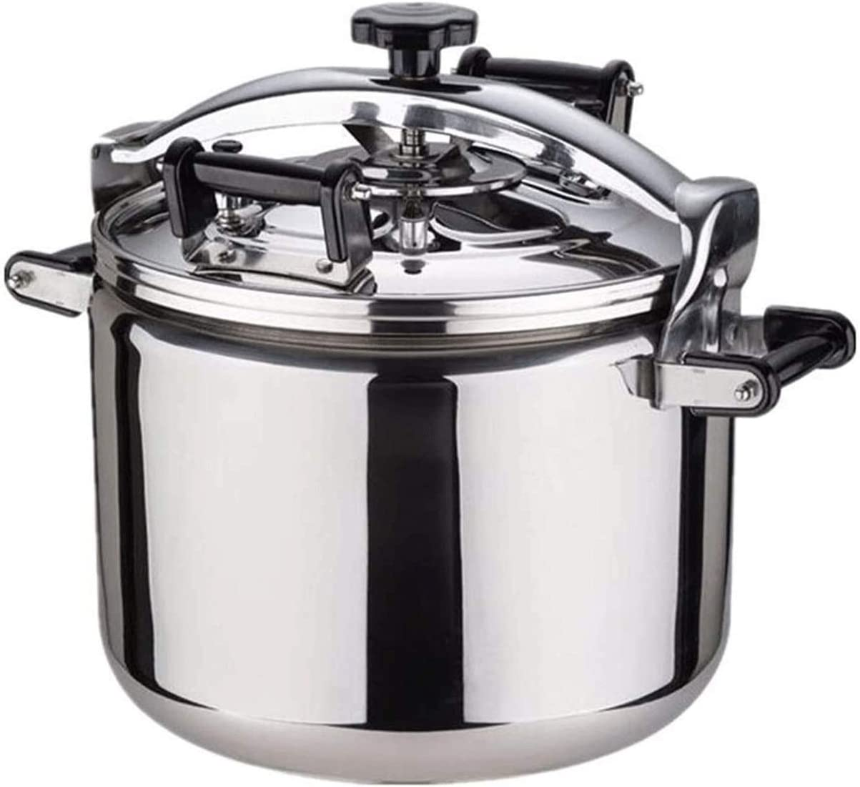 Z-COLOR 304 Stainless Steel Thickened Explosion-proof Pressure Cooker Cooker Commercial Hotel Gas-fired Induction Cooker General 22L, 30L, 40L (Size : 22L)