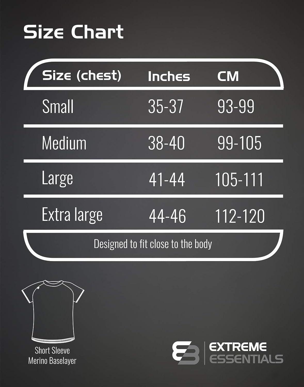 Short Sleeve Extreme Essentials Merino Baselayer Close Fit