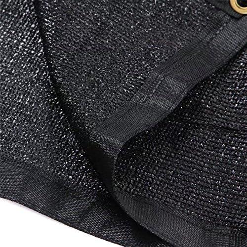 e.share 90 Black Shade Cloth 20ft x 30ft Heavy Duty Shade Mesh Tarp