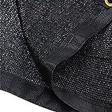E.share 90% Black Shade Cloth 12ft x 6ft Heavy Duty