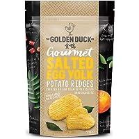 The Golden Duck Golden Duck Salted Egg Yolk Potato Ridges, 125 g