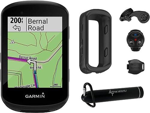Wearable4U Garmin Edge 530 GPS Cycling Computer with Included Compact Power Bank Bundle