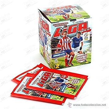 Caja de 50 sobres LIGA ESTE 2014 / 2015, 300 cromos stickers: Amazon.es: Juguetes y juegos