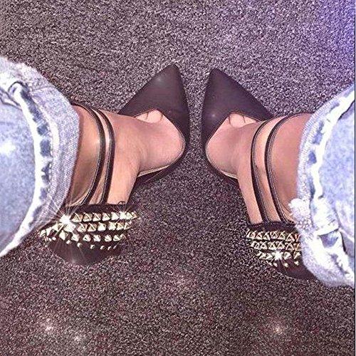 Sandals Heel Sandals Lovely Prom stylish High 7UK Size Heeled Rabbit Women's Strappy tpg1wApq