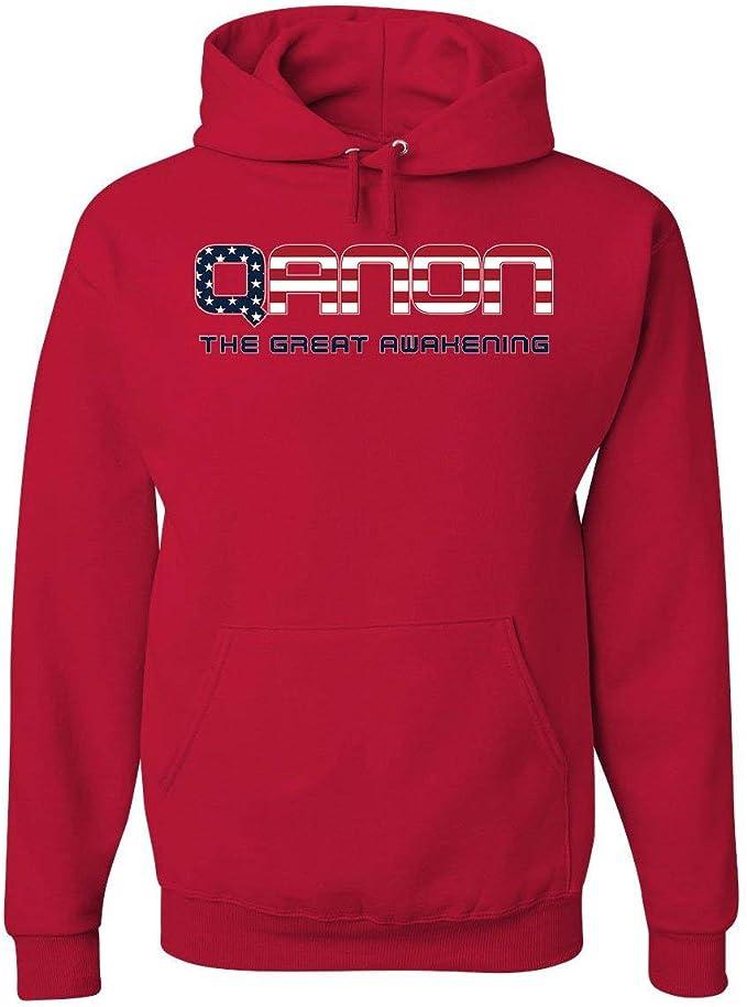 QAnon Deutschland Flagge Q WWG1WGA Great Awakening Deepstate Sweatshirt