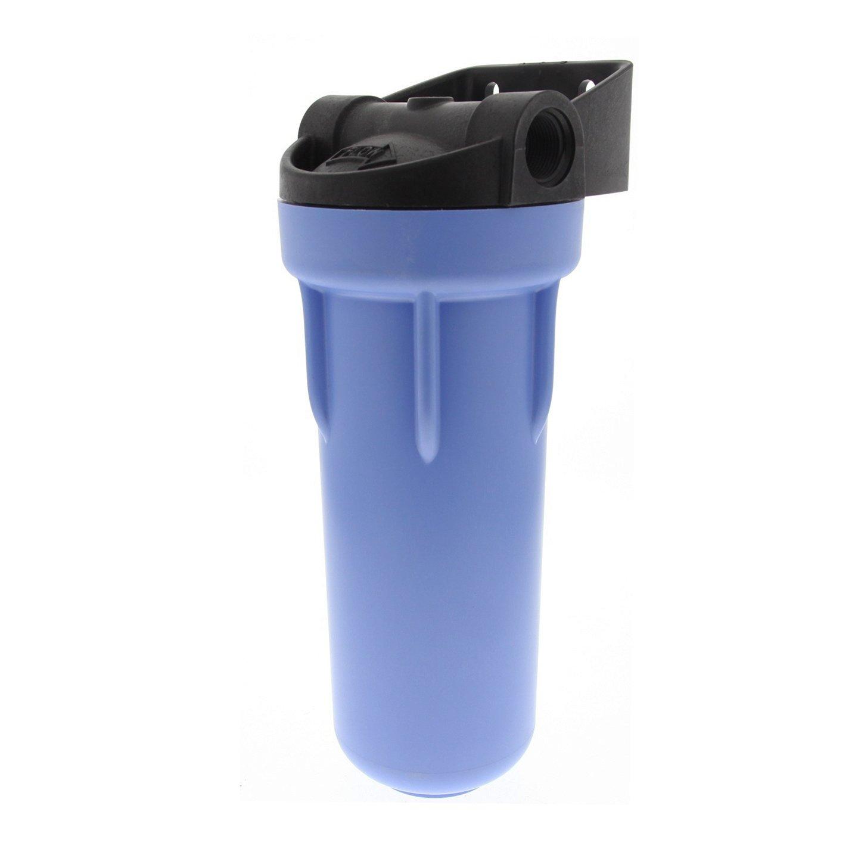 Pentek 150550 3/4'' #10 3G Blue Filter Housing with Bracket and Pressure Relief by Pentek